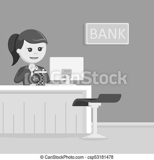 Design Teller bank teller illustration design vectors illustration search