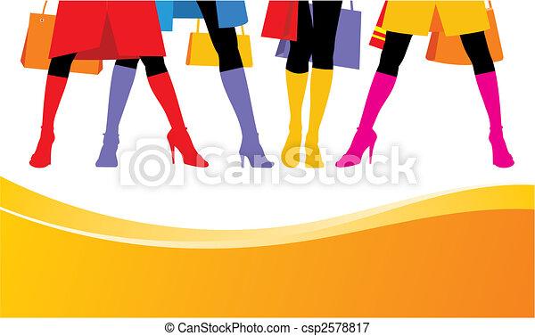 Female boots 2 - csp2578817