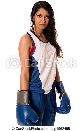 Female Boxer - csp19624951