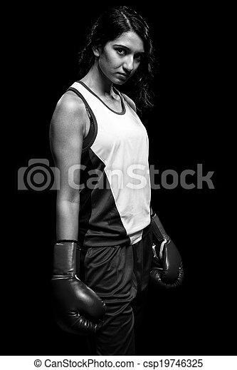 Female Boxer - csp19746325