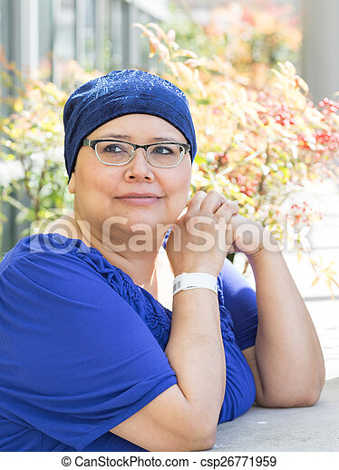 Female Breast Cancer Patient - csp26771959