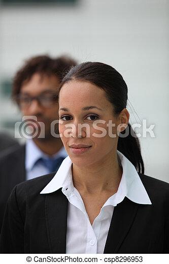 Female business executive - csp8296953