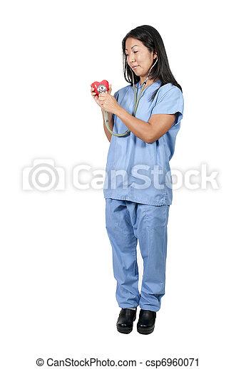 Female Cardiologist - csp6960071