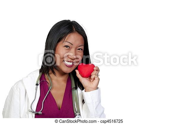 Female Cardiologist - csp4516725