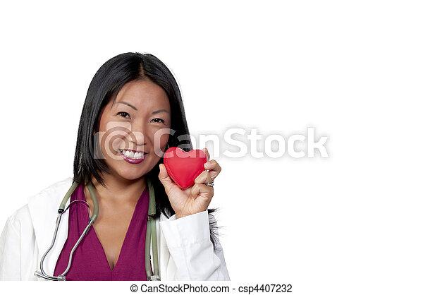Female Cardiologist - csp4407232