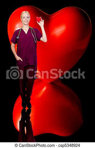 Female Cardiologist - csp5348924