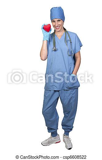 Female Cardiologist - csp6608522