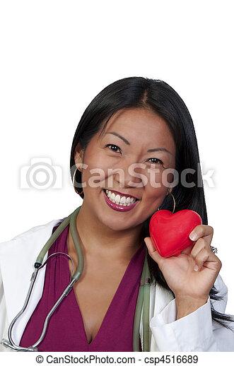 Female Cardiologist - csp4516689
