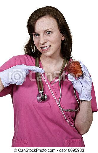 Female Cardiologist - csp10695933