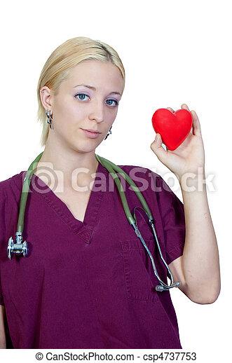 Female Cardiologist - csp4737753