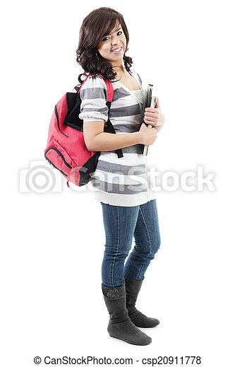 Female College student - csp20911778