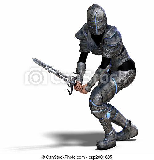 Female Fantasy Knight - csp2001885