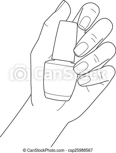 Fingernail Illustrations And Clip Art 3145 Fingernail Royalty Free