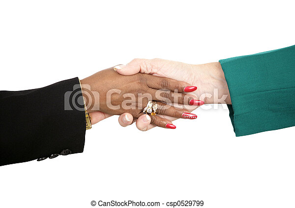 Female Handshake  - csp0529799