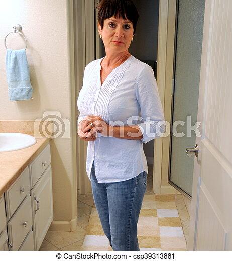 Mature bathroom