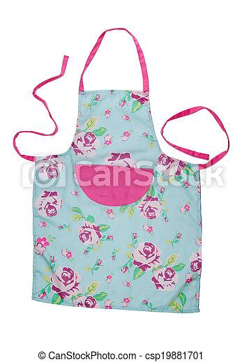 Female kitchen apron - csp19881701