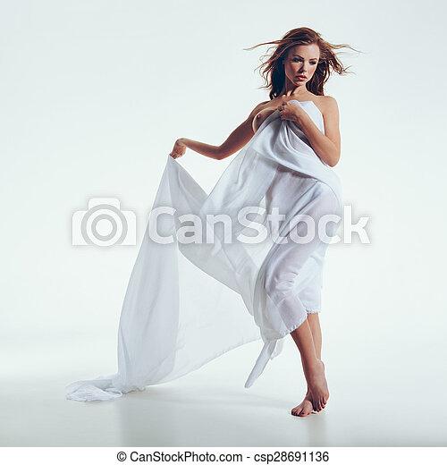 Something similar naked girl standing over
