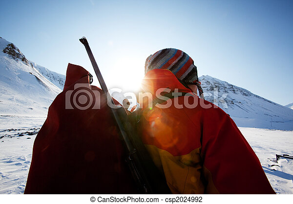 Female Mountaineer - csp2024992