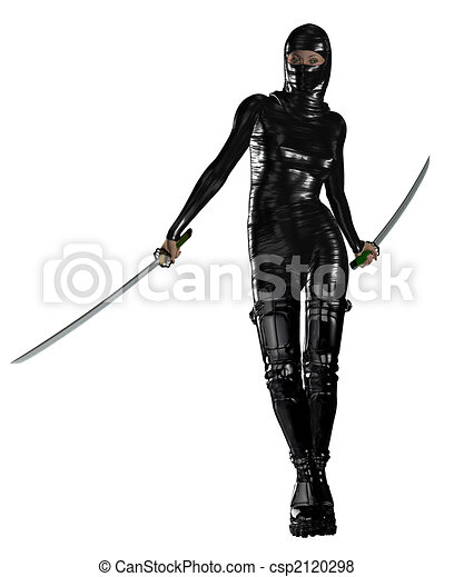 Female Ninja - csp2120298