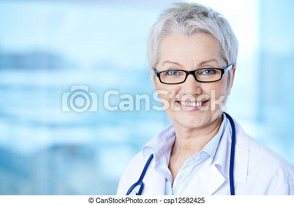 Female practitioner - csp12582425