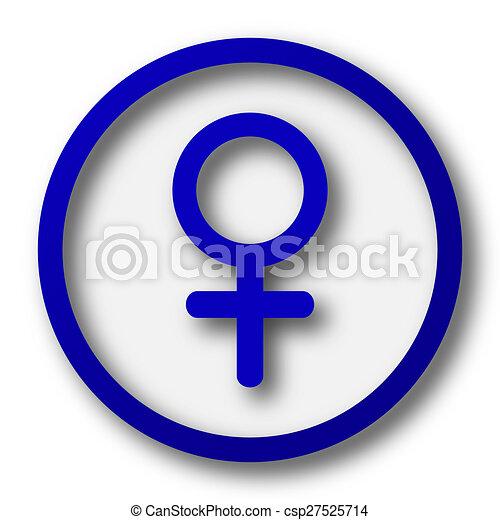 Female sign icon - csp27525714