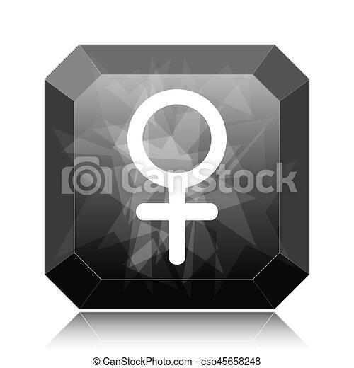 Female sign icon - csp45658248