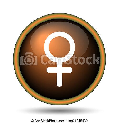 Female sign icon - csp21245430