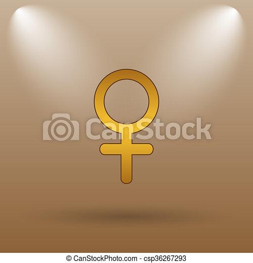 Female sign icon - csp36267293
