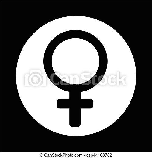 female sign icon - csp44108782