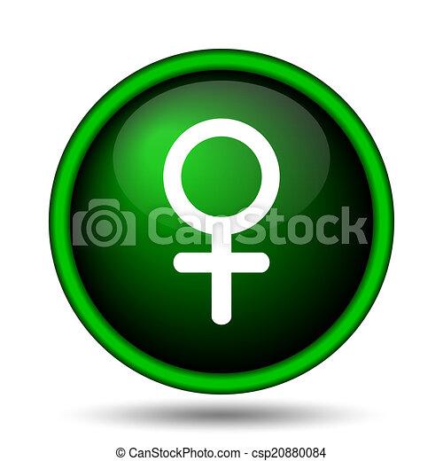 Female sign icon - csp20880084