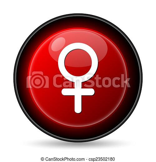 Female sign icon - csp23502180