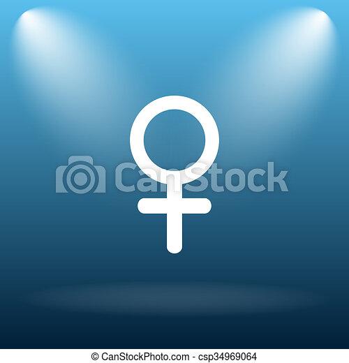 Female sign icon - csp34969064