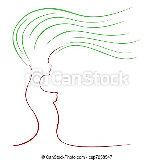Female tree - csp7258547