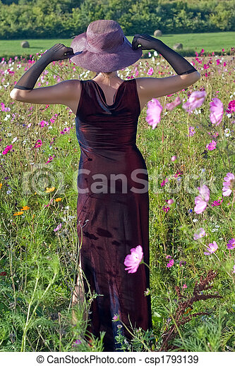 feminity in flowers - csp1793139