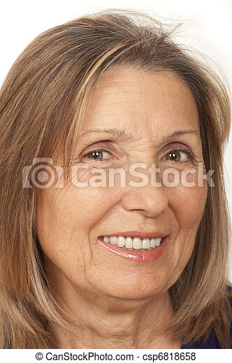 femme aînée, citoyen - csp6818658