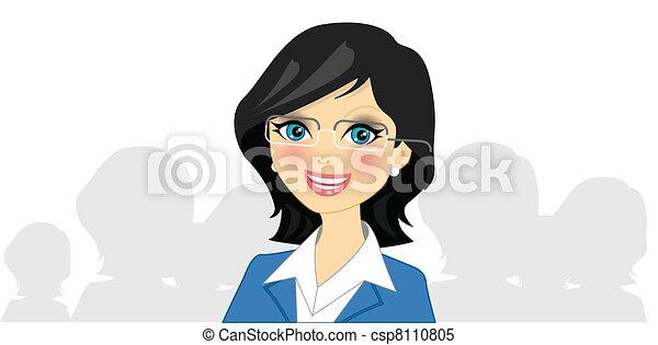 femme affaires - csp8110805