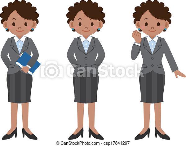 femme affaires - csp17841297