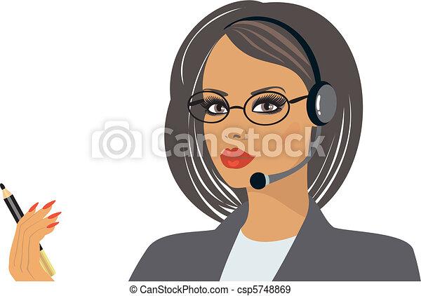 femme affaires - csp5748869
