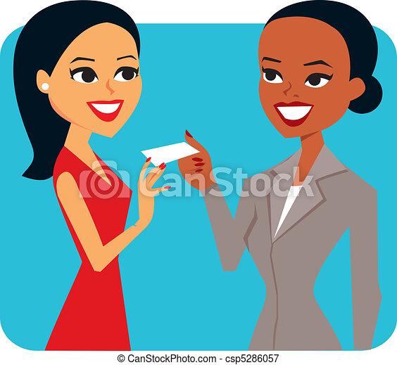 femme affaires - csp5286057