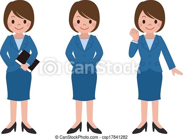 femme affaires - csp17841282