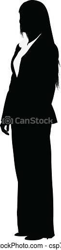 femme affaires - csp7442504