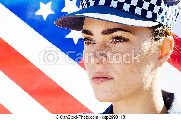 femme-agent - csp2998118
