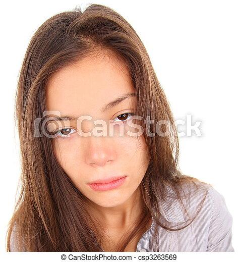 femme, fatigué - csp3263569