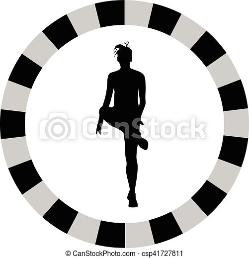 femme, fitness - csp41727811