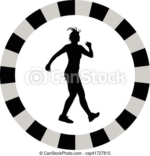 femme, fitness - csp41727815