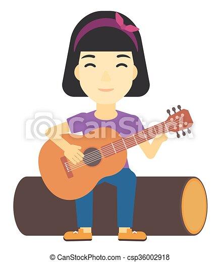 """Résultat de recherche d'images pour """"clipart femmes guitare"""""""