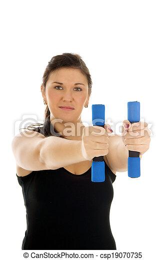 femme, sportif - csp19070735