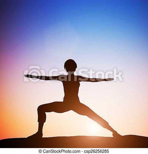 pose yoga zen