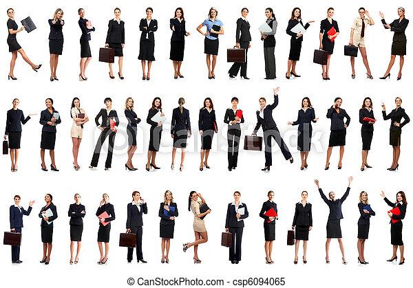 femmes, business - csp6094065