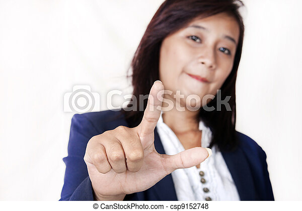 femmes, business, main - csp9152748